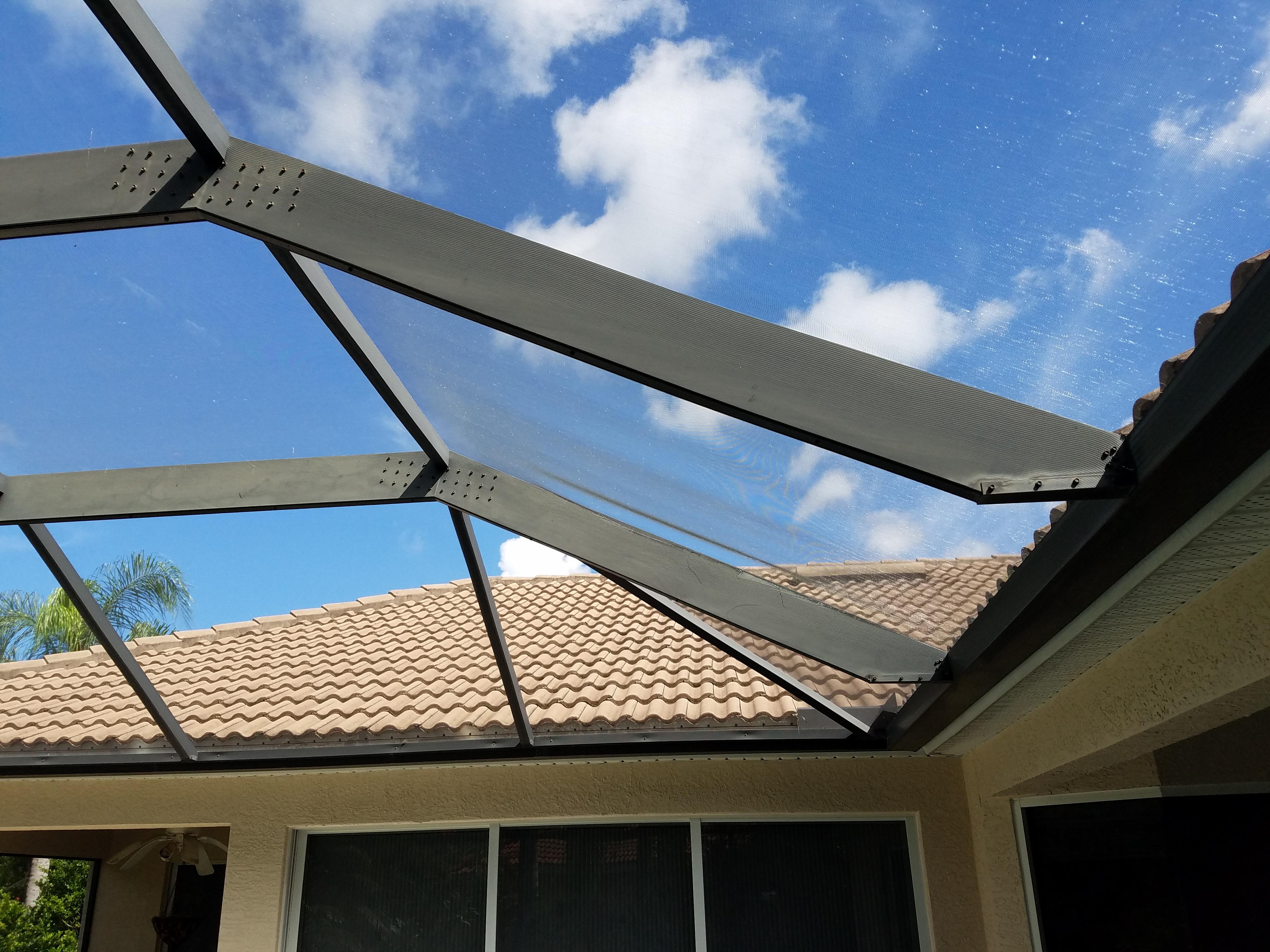 Screen Repair and Rescreening in Sarasota