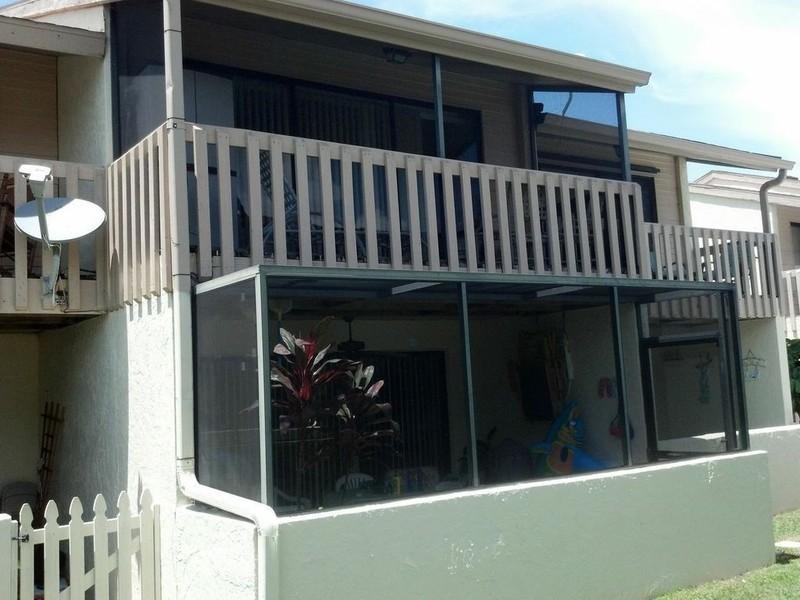 screen porch rescreening