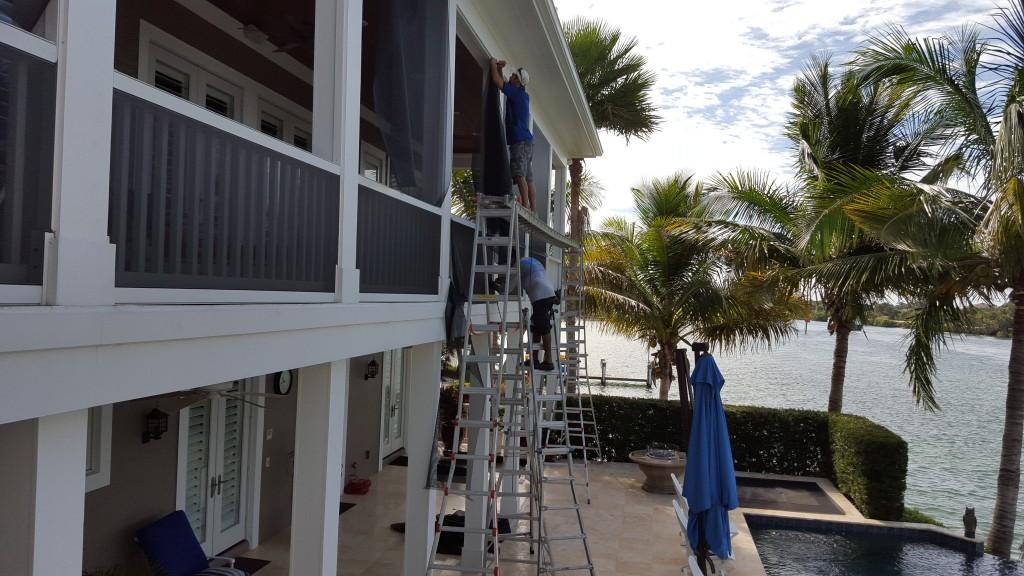 porch screen repair