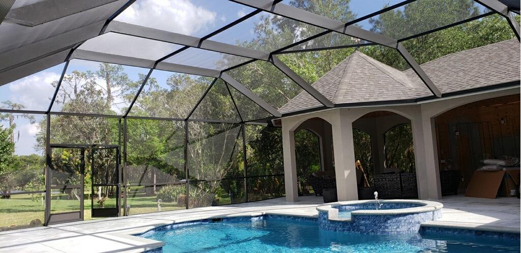 Pool Cage Refurbish